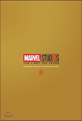 마블 스튜디오 10주년 기념 골드 포스터 컬렉션 2