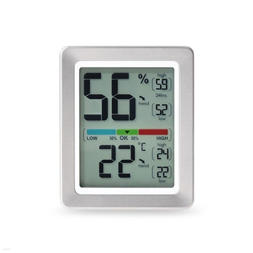 프리미엄 온습도계 ML0758 프랑스산 센서 사용