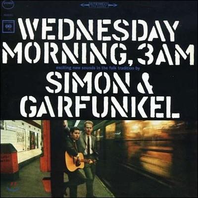 Simon & Garfunkel - Wednesday Morning, 3 A.M. 사이먼 앤 가펑클 데뷔 앨범 [LP]