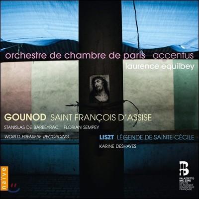 Accentus 구노: 아시즈의 성 프란체스코 / 리스트: 성 세실리아의 전설 (Gounod: Saint Francois d'Assise / Liszt: Sainte Cecile Legende)