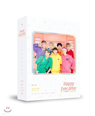 방탄소년단 (BTS) - BTS 4th MUSTER : Happy Ever After Blu-ray