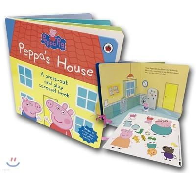 페파 피그 : 페파네 집 종이 인형 놀이책 : Peppa Pig : Peppa's House
