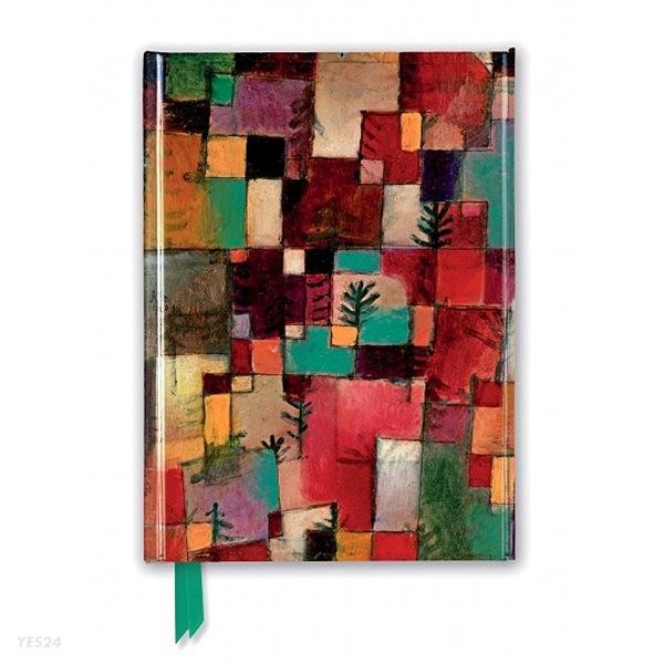 유선노트북 : Paul Klee: Redgreen & Violet-Yellow Rhythms