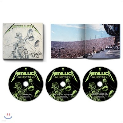 Metallica (메탈리카) - …And Justice for All [3CD]