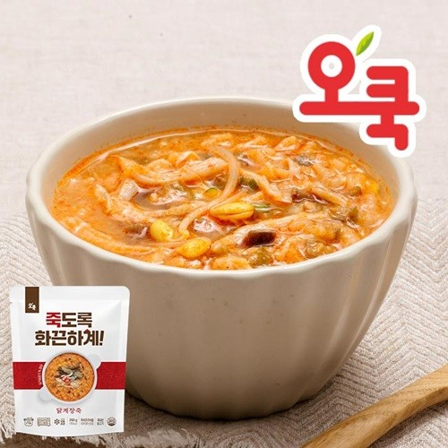 [오쿡]닭가슴살 닭계장죽