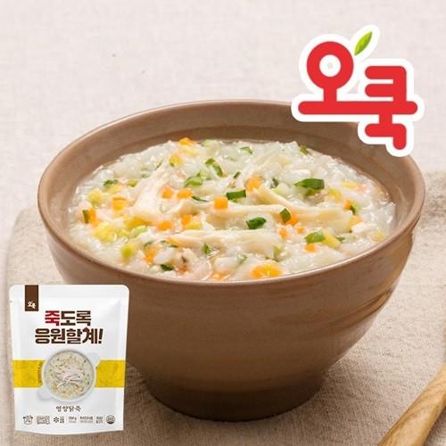 [오쿡]닭가슴살 영양닭죽