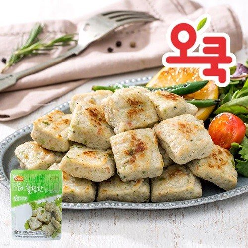[오쿡]청양고추맛 닭가슴살 큐브