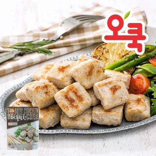 [오쿡]현미햄프씨드맛 닭가슴살 큐브