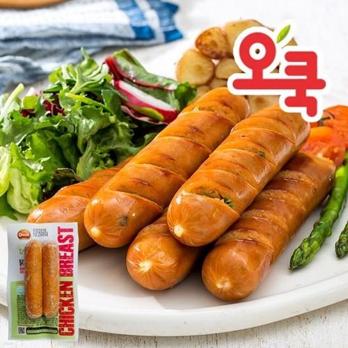 [오쿡]청양고추맛 닭가슴살 소시지
