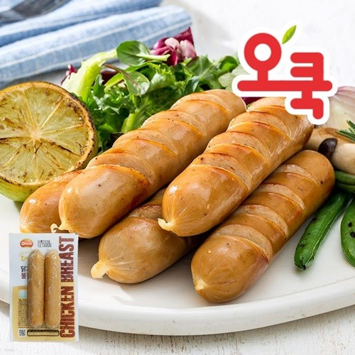 [오쿡]불갈비맛 닭가슴살 소시지