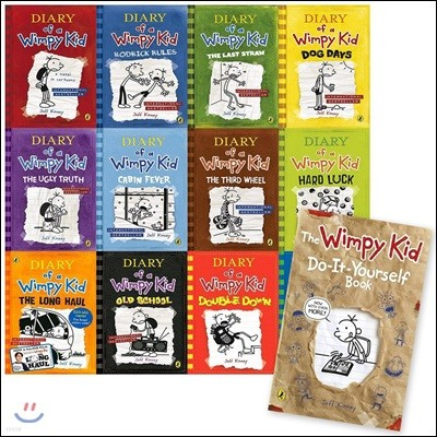 Diary of a Wimpy Kid Set : Book 1-12 & DIY Book (영국판)