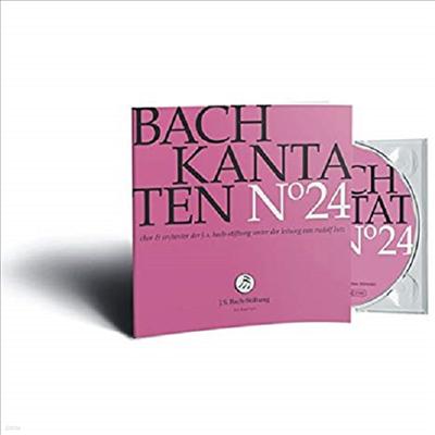 바흐: 칸타타 24집 (Bach: Cantatas Vol.24) - Rudolf Lutz