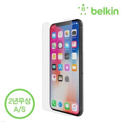벨킨 아이폰XS 맥스용 인비지 울트라 강화유리 F8W905zz 액정보호필름