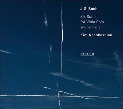 Kim Kashkashian 바흐: 무반주 첼로 모음곡 [비올라 연주반] (Bach: Cello Suites BWV 1007-1012 transcribed for viola)