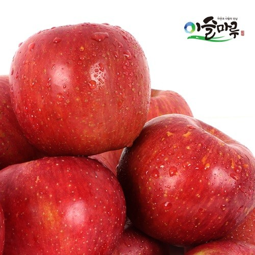 [이슬마루] 경북 의성 사과 흠과 부사 3kg(15~20과)