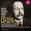 Pierre Monteux 피에르 몽퇴 BBC 녹음집 - 드뷔시: 영상 / 브람스: 교향곡 3번 / 하이든: 교향곡 102번 / 브람스: 바이올린 & 이중 협주곡 [4CD Boxset]