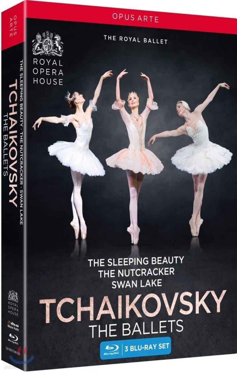 The Royal Ballet 차이코프스키: 로열 발레단 (Tchaikovsky: The Ballets) [3 Blu-ray]