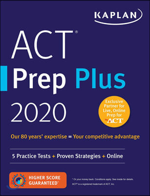 Kaplan ACT Prep Plus 2020