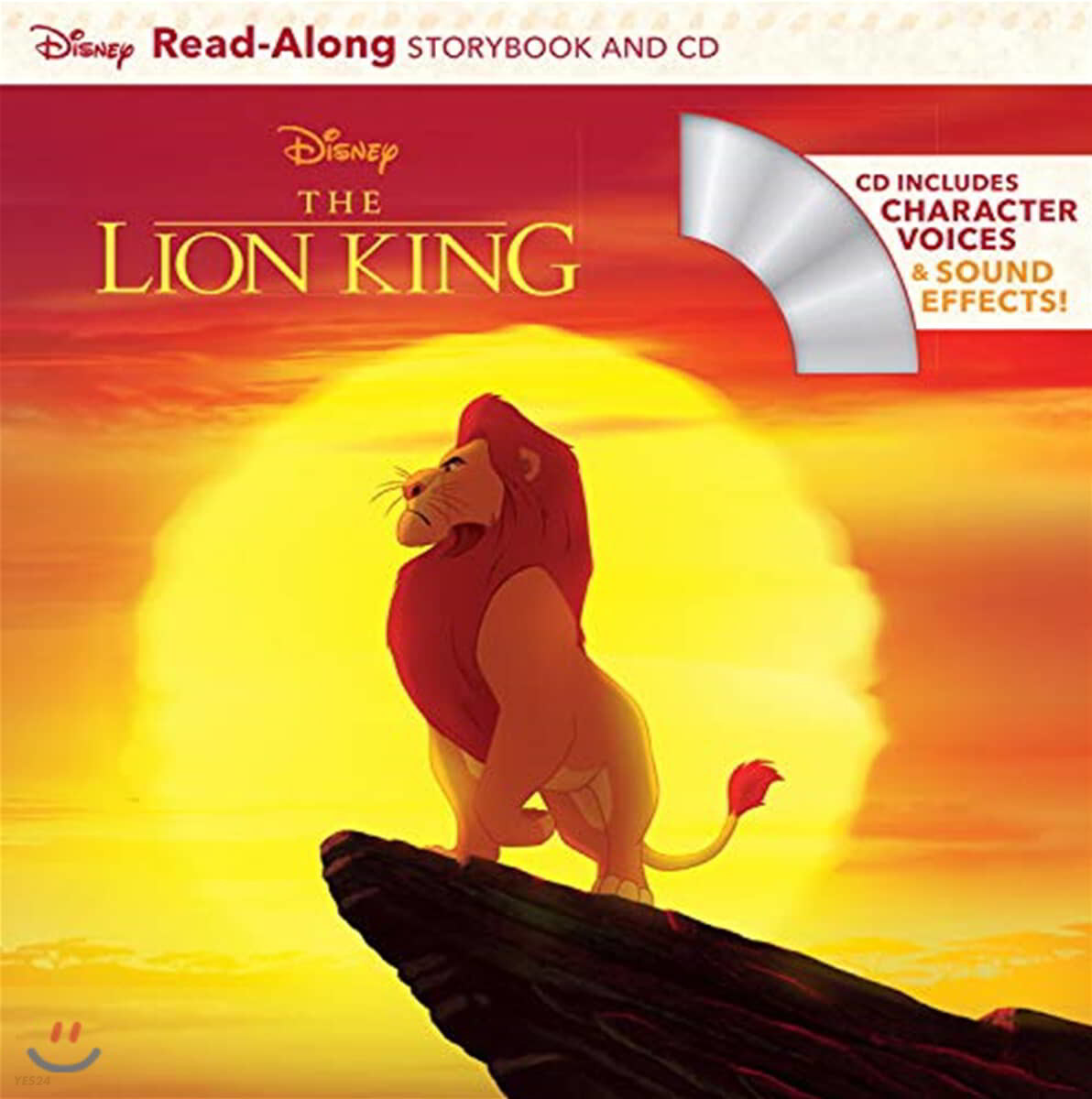 The Lion King 라이온킹 : Read-Along Storybook