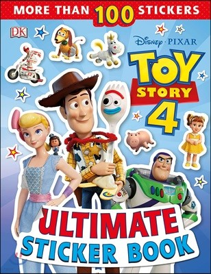 Disney Pixar Toy Story 4 Ultimate Sticker Book : 토이스토리4 스티커북