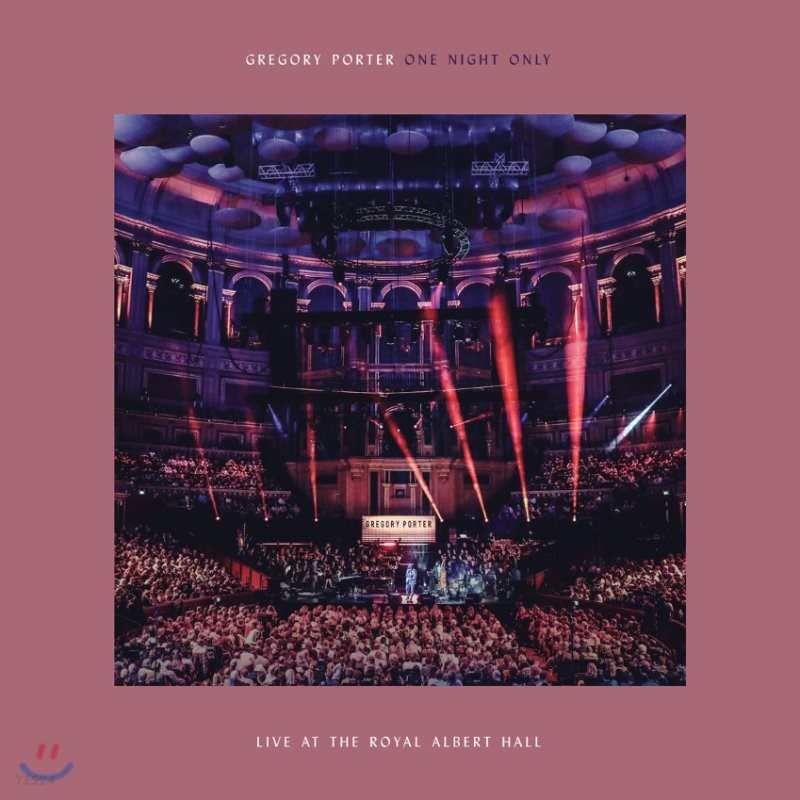 Gregory Porter - One Night Only: Live At The Royal Albert Hall 그레고리 포터 2018년 라이브 [CD+DVD]