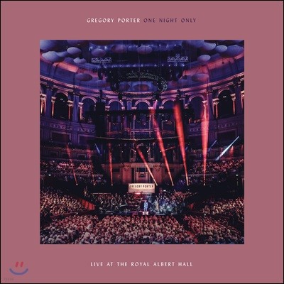 Gregory Porter - One Night Only: Live At The Royal Albert Hall 그레고리 포터 2018년 라이브