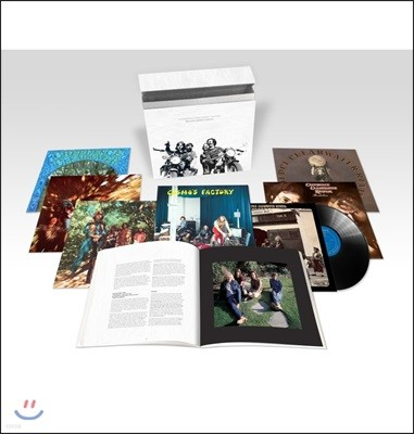 Creedence Clearwater Revival (C.C.R.) - The Half Speed Masters [7LP 박스세트]