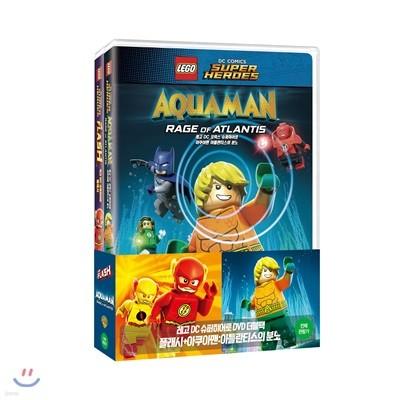 레고 DC 슈퍼히어로 플래시+아쿠아맨 더블팩 (2Disc 한정수량)