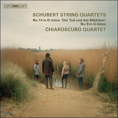 Chiaroscuro Quartet 슈베르트: 현악 사중주 14번 '죽음과 소녀', 9번 (Schubert: String Quartet D.810 'Death and the Maiden`, D.173)