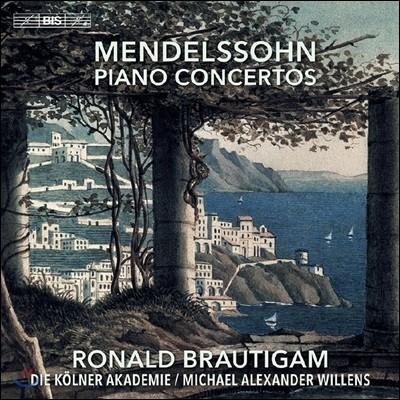 Ronald Brautigam 멘델스존: 피아노 협주곡 - 로날드 브라우티함 (Mendelssohn: Piano Concertos)