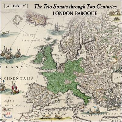 London Baroque 런던 바로크가 연주하는 바로크 트리오 소나타 (The Trio Sonata Through Two Centruies) [8CD Boxset]