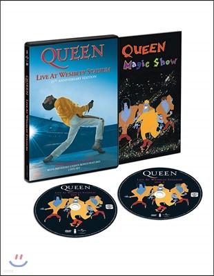 Queen - Live At Wembley Stadium 퀸 웸블리 라이브 발매 25주년 기념 [2DVD]