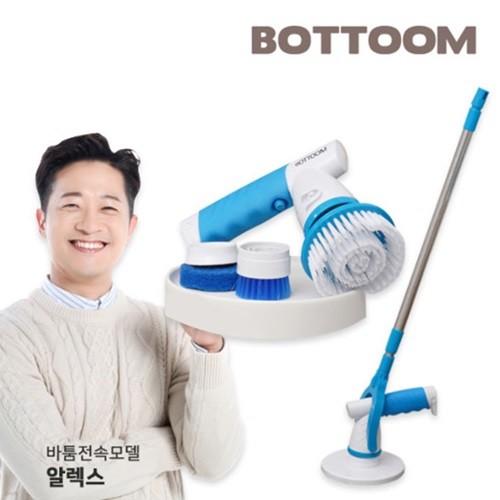 [바툼] 전동 무선 욕실청소기 시즌 2 (풀구성/화장실청소/스틱+핸디)