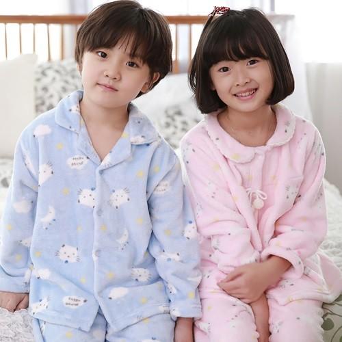 코지 네꼬 밍크 아동잠옷/유아잠옷/긴팔잠옷/실내복