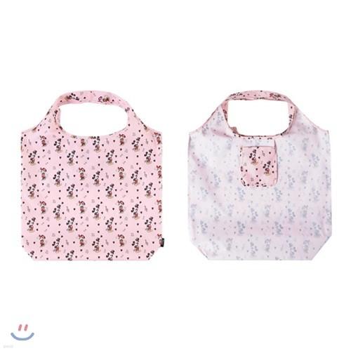 미키&미니 마켓백 핑크