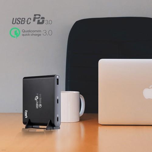 UM2 USB-PD 맥북 프로15인치 LG그램 고속충전기 QC90W
