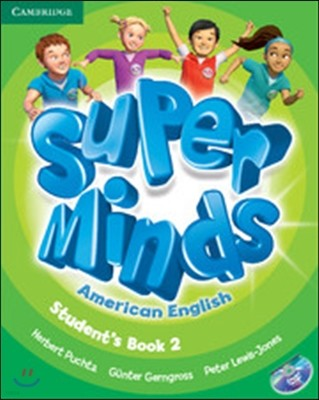 Super Minds American English Level 2 Student's Book + Dvd-rom