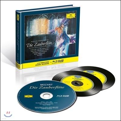 Karl Bohm 모차르트: 마술피리 (Mozart: Die Zauberflote, K620) [2CD+블루레이 오디오]