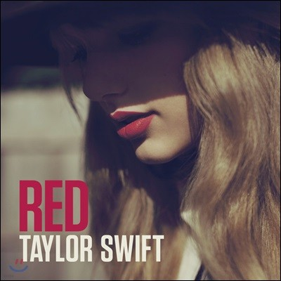 Taylor Swift (테일러 스위프트) - Red 정규 4집 [크리스털 투명 컬러 2LP]