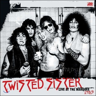 Twisted Sister (트위스티드 시스터) - Live At The Marquee 1983 [레드 컬러 2LP]