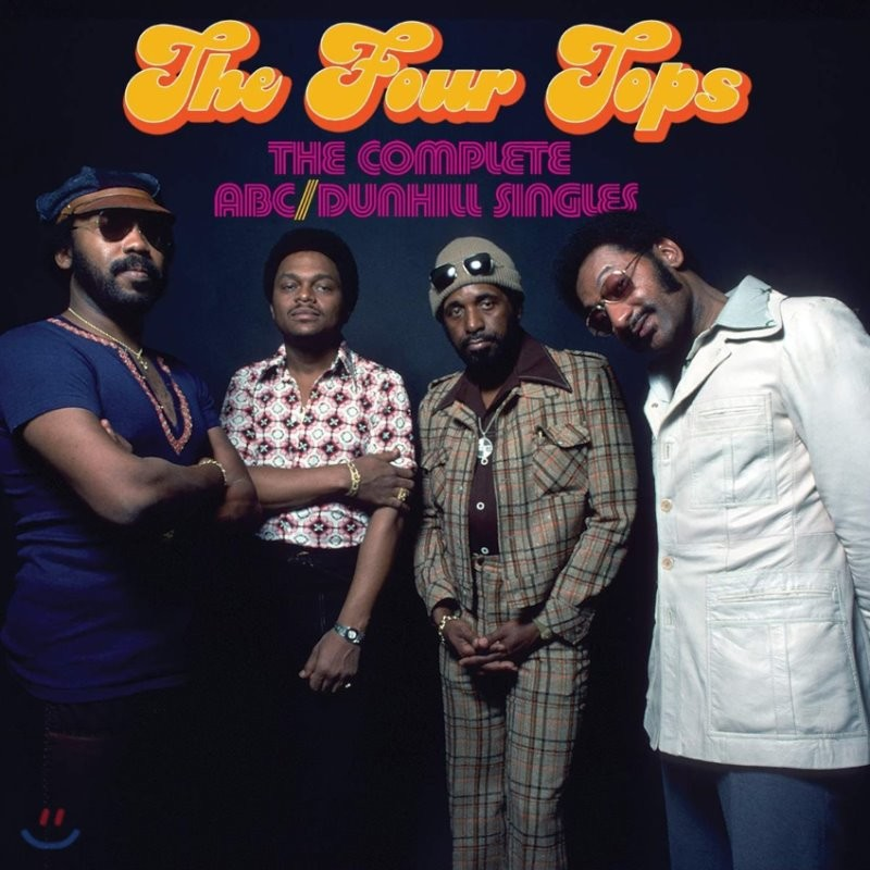 Four Tops (포 탑스) - The Complete ABC / Dunhill Singles