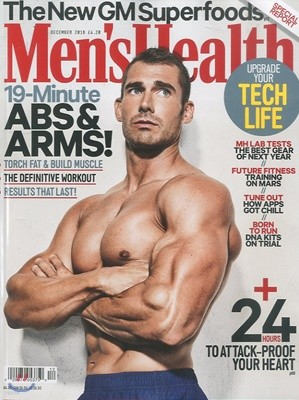 Men's Health UK (월간) : 2018년 12월
