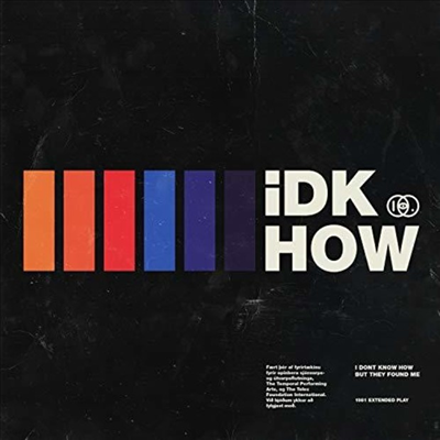 I Don't Know How But They Found - 1981 (EP)(Digipack)