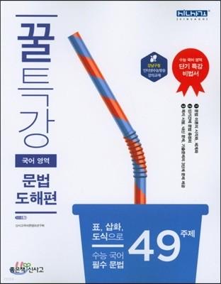 꿀특강 국어영역 문법 도해편 (2019년)
