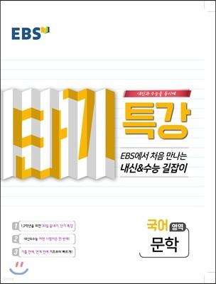 EBS 단기특강 처음 만나는 내신과 수능의 길잡이 문학 (2019년)