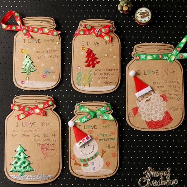 [아트랄라] 성탄메세지보틀만들기(10인용)/크리스마스카드만들기