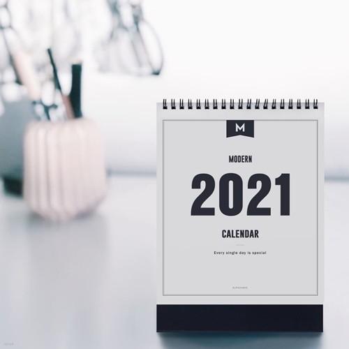 2021 MODERN DESK CALENDAR