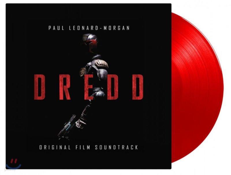 저지 드레드 영화음악 (Dredd OST by Paul Leonard-Morgan) [레드 컬러 LP]