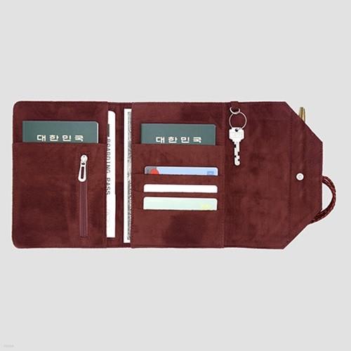 [Controll9] 컨트롤트래블러 커플 Small / 1~2인용 / 커플여권지갑, 여권케이스