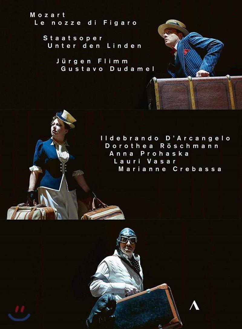 Gustavo Dudamel 모차르트: 오페라 '피가로의 결혼' (Mozart: Le nozze di Figaro) [2DVD]